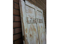 Rustic doors for Weddings or Theatre
