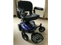 Electric wheelchair - Cobalt portable power chair