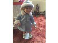 Danbury mint Shirley temple porcelain collectors doll