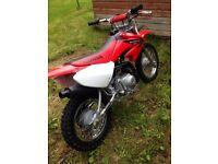 honda crf *genuine honda* kids motorbike crf70 crf 70