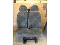 Ford Transit Mk7 2007 front passenger bench seat great condition