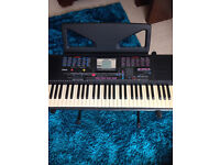 Yamaha Programable Keyboard PSR-230 with power cord & Stand !!