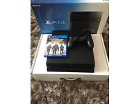 PS4 500GB MATTE BLACK EXCELLENT CONDITION FULLY WORKING + GAME & BOX
