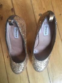 Golden Dune shoes