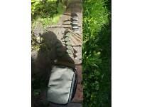 Avid bag leads.. 2oz inline.. avid back leads.. lead pouch