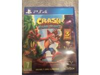 PS4 crash bandicoot n-sane triology