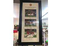 Manchester United the treble photographs