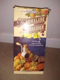 Marmalade shredder