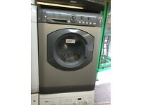 Silver Hotpoint washer dryer £160 fully working and guaranteed