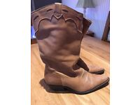 Cow girl boots. Uk size 7