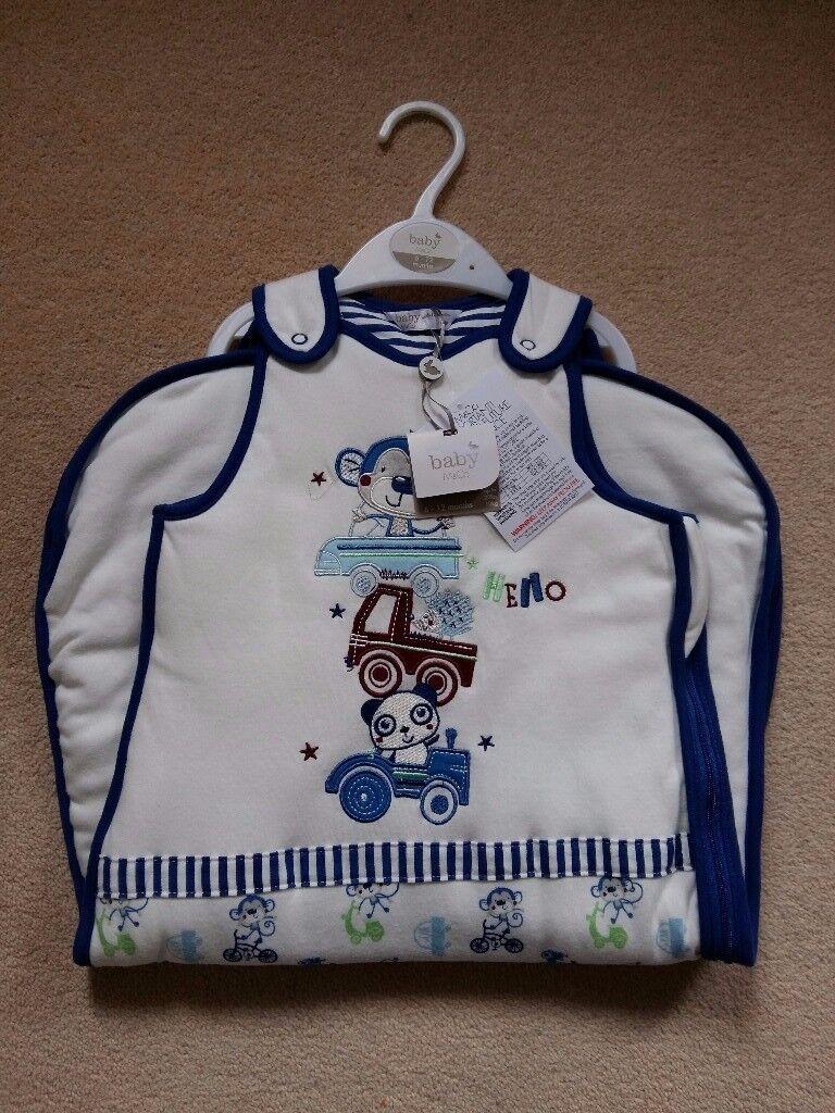 Brand new M&Co baby boy sleeping bag 6-12months, 2.5 tog