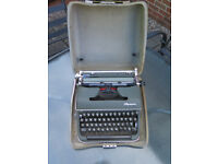 Oylmpia portable typewriter
