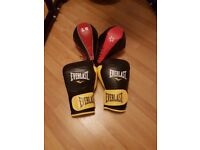 Punch bag, stand and accessories