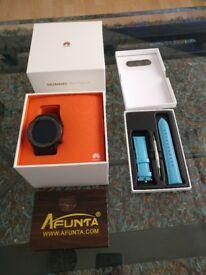 Huawei Watch 2 Sport Smartwatch, plus extras.