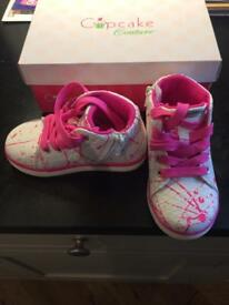 Cupcake kids shoes