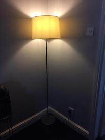 Tall standing lamp