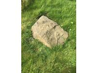 Selection of large and small garden rocks FREE