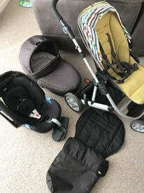 Mamas and papas tayo travel system