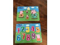 Peppa Pig Wooden Puzzles