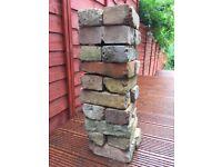 Reclaimed Victorian bricks