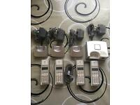 Cordless Quad BT Freestyle 250 Telephones