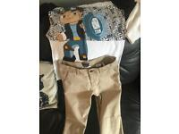 Dan tdm t-shirt and chinos ages 10/11 yrs