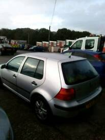 VW Golf 1.6. 11 Months MOT no advisories