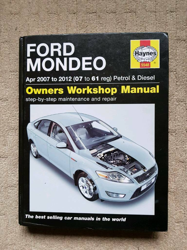 FORD MONDEO 07 to 61 plate HAYNES WORKSHOP MANUAL