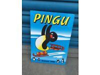 Rare PINGU PENGUIN ANNUAL 1995 CHILDRENS tv character retro vintage 90s comic book SDHC