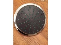 """Large chrome high quality 7.5"""" shower head, great pressure and coverage high performance accept £20"""