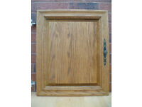 SOLID OAK KITCHEN CUPBOARD DOORS