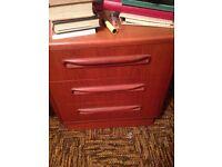 G plan retro bedside/ drawers/ sideboard