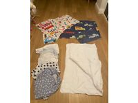Toddler bed bedding set and sheets