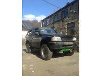 Vauxhall Frontera 2.0, Off Roader, Manual, lift kit, Similar To Izuzu Trooper