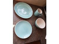 Colourmatch dinnerware set for sale in jelly bean blue