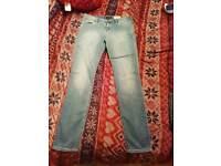 Armani stonewash skinny push up jeans