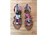 Gladiator Sandals size 4