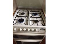 White Free standing gas cooker - full working order. New kitchen coming so must go.
