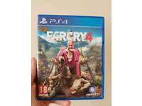 Far Cry 4 (Disc not scratched at all)