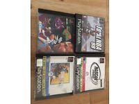 4 Sony Playstation 1 PS1 Original Games