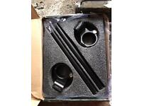 Parts for r6 1999, never been used racebars and akrapovic end can for 2006 model
