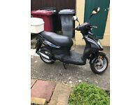 50 cc Motorbike.Very good condition.Low mileage .