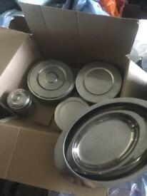 Mixed steel containers