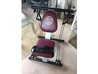 Golds gym exercise machine