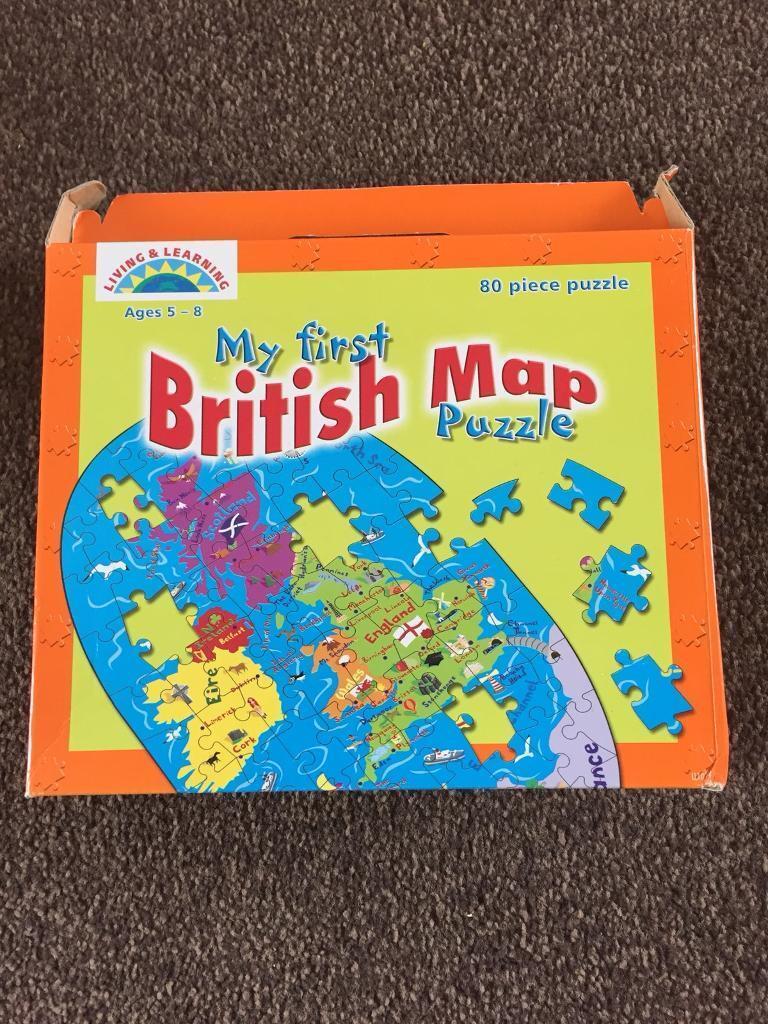 British map puzzle brand new in congresbury bristol gumtree british map puzzle brand new gumiabroncs Gallery
