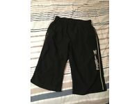 Hardly Worn Mens Sports/Casual Nike Mens Black & White Shorts M/Medium Long Leg - £15 Excellent Con.