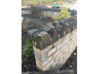 WANTED -Skilled Brick Layer or Stone Mason to Finish Stone Coping on Landscape Walls, Ballymena Area