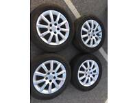 Vauxhall astra/safira alloys