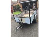 Solid 6x4 trailer for sale
