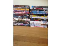 Selection of DVDs 50p each or £14 for the set